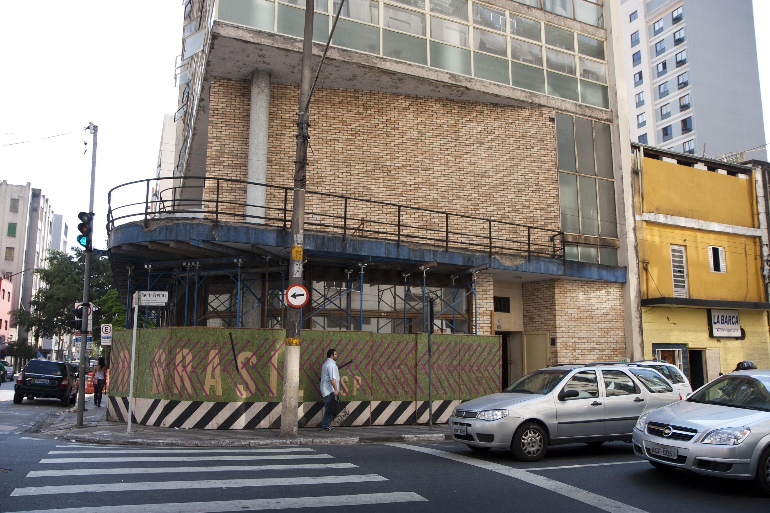 Sede do IAB-SP antes do final da reforma/ foto Erika Garrido/Folhapress