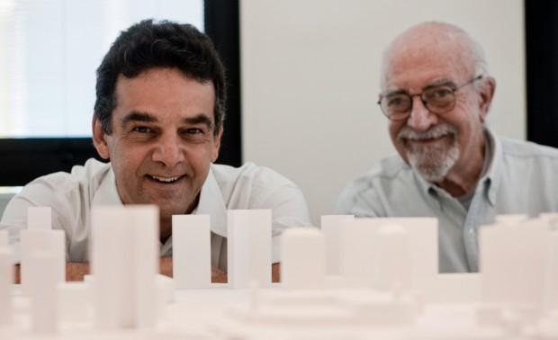 Roberto Aflalo (esq.) e seu sócio, Gian Carlo Gasperini