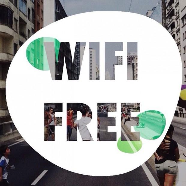 Imagem de divulgação do Wifi livre no Minhocão